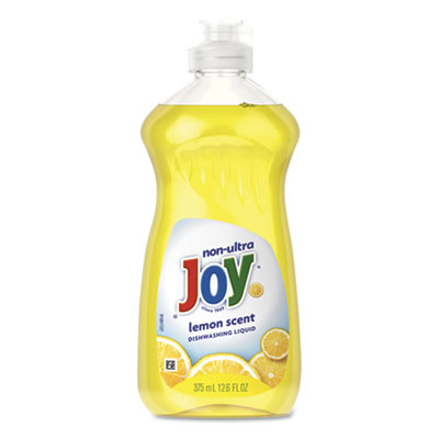 Dishwashing Liquid, Lemon, 12.6 oz Bottle, 12/Carton