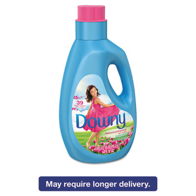 Liquid Fabric Softener, April Fresh, 64oz Bottle