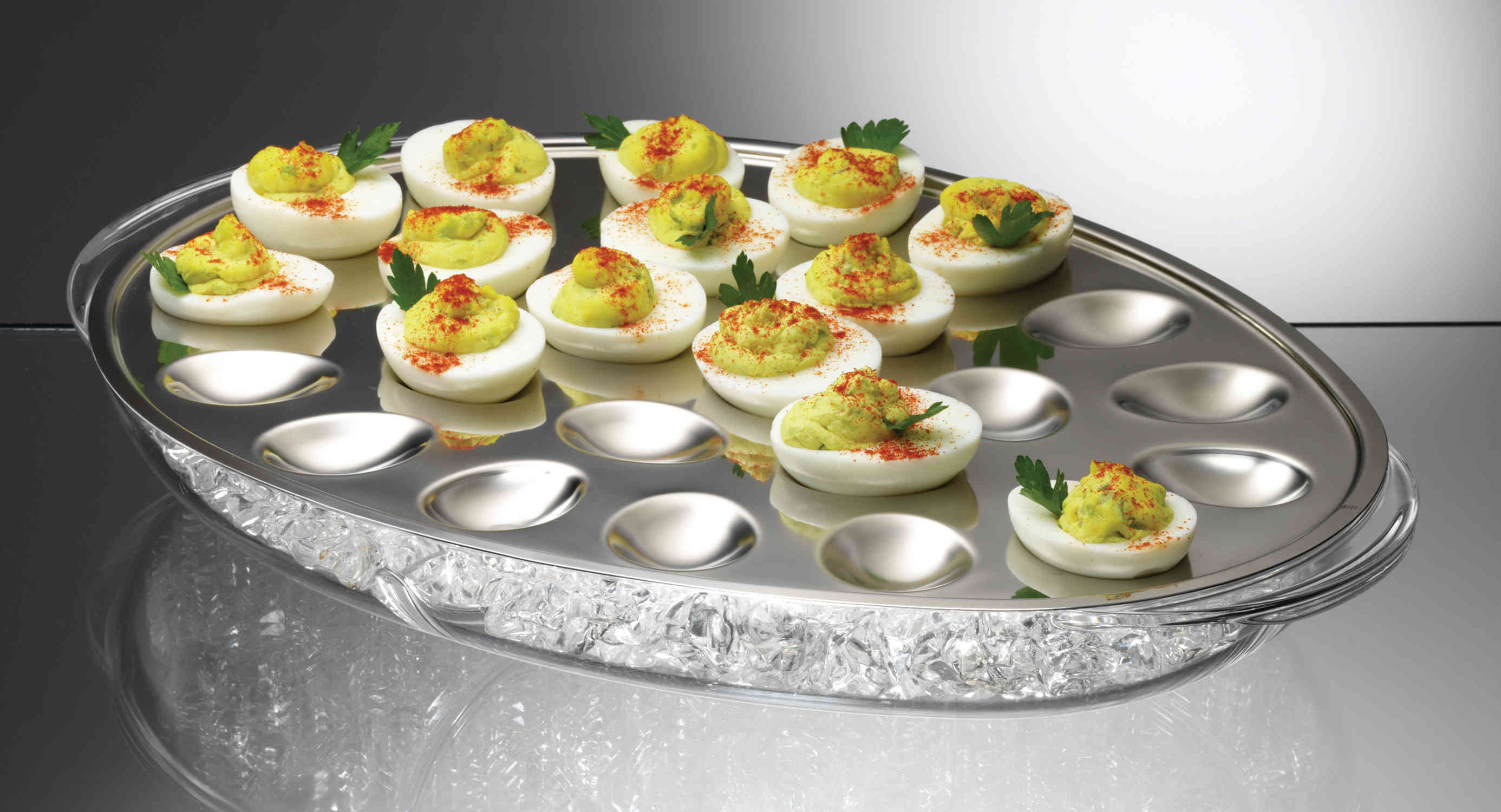 PRODYNE IC24 ICED EGGS HOLDS 24 DEVILED EGG HALVES