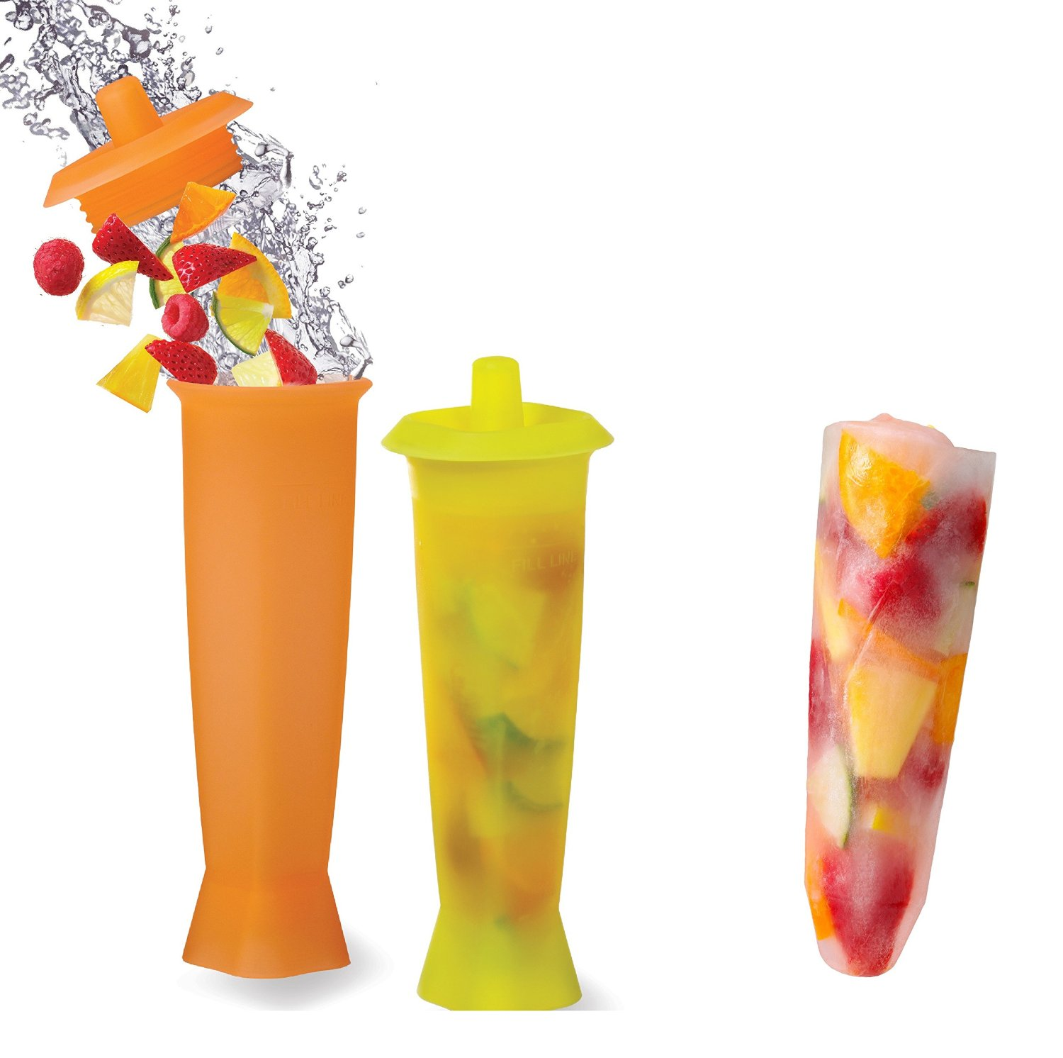 PRODYNE FI8 FRUIT INFUSION ICE MOLDS SET OF 2 EASY TO PREPARE