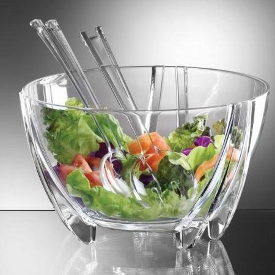 PRODYNE SB10 FLIP LID SALAD ON ICE SERVING BOWL 6 QUART