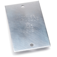 Pro-Flex PFSP-0302 Striker Plate, For Use With Pro-Flex CSST Flexible Gas Piping System