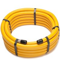 Pro-Flex PFCT-1225 Flexible Hose, 1/2 in x 25 ft, 304 Stainless Steel