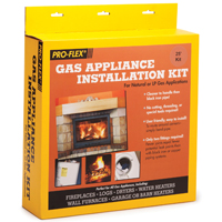 PRO-FLEX GAS APPLIANCE KIT