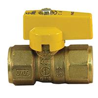 Pro-Flex PFGV-F12B Gas Valves, 1/2 x 1/2 Inch