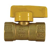 Pro-Flex PFGVO-F12B Gas Valves, 1/2 x 1/2 Inch