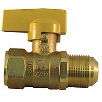 Pro-Flex PFGV-FFL121516B Gas Valves, 1/2 x 15/16 Inch