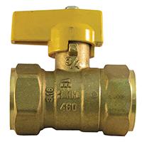 Pro-Flex PFGV-F34B Gas Valves, 3/4 x 3/4 Inch