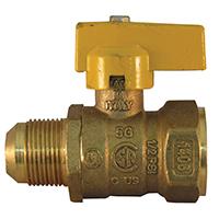 Pro-Flex PFGV-FFL341516B Gas Valves, 3/4 x 15/16 Inch