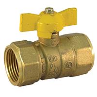 Pro-Flex PFGV-F01TP Gas Valves, 1 x 1 Inch
