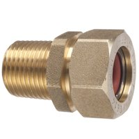 Pro-Flex PFMF-3406 Tube To Pipe Adapter, 3/4 in, CSST X MNPT, Brass