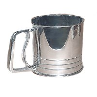 SIFTER FLOUR SS 5 CUP