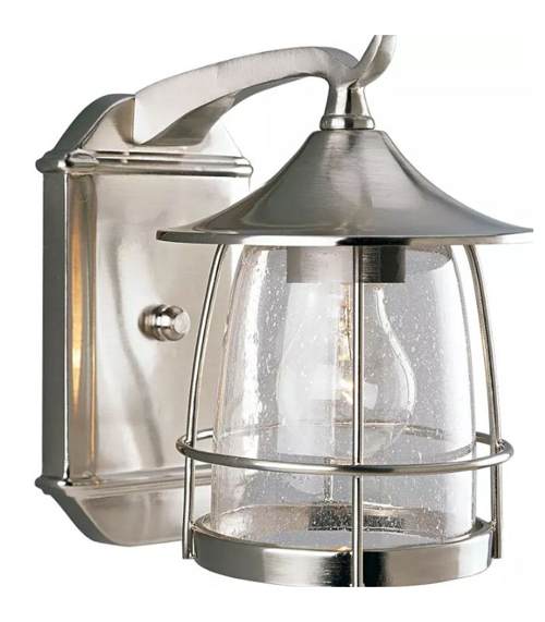 1 100 Watts Medium Wall Lantern