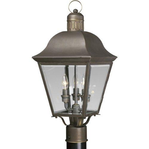 3-60W Candelabra Post Lantern
