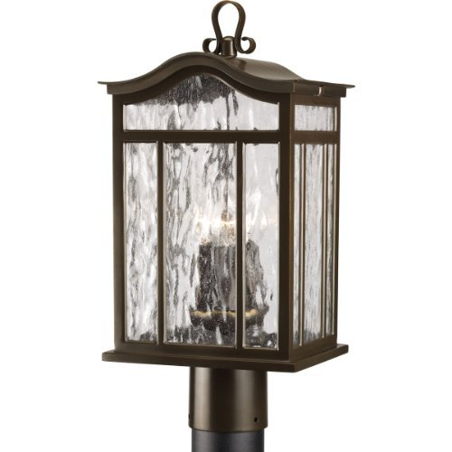 Oil Rubbed Bronze 3 1 60 Watts Medium Post Lantern