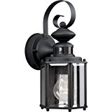 1 100 Watts Medium Wall Lantern MS
