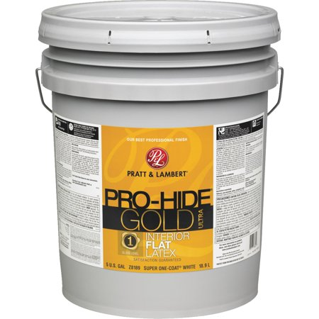 PAINT INTERIOR FLAT WHT 5GAL