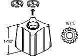 PROPLUS BATHROOM HANDLE FOR KOHLER TREND
