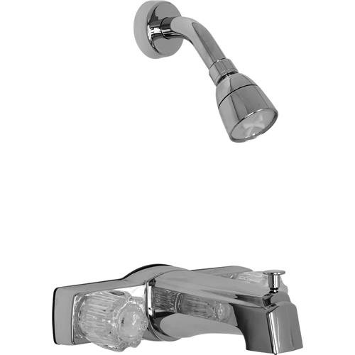 Proplus™ Bathtub And Shower Faucet With Diverter And Non-Metallic Waterways, Chrome