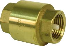 "CHECK VALVE IN-LINE, 1-1/4"" FIP, LEAD FREE"