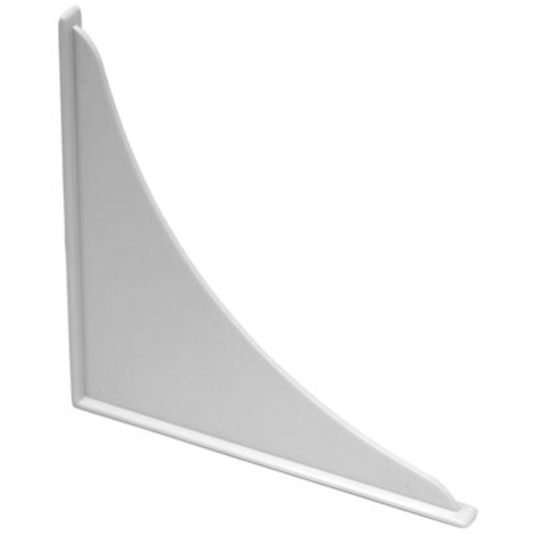 PROPLUS� POLYSTYRENE BATHTUB GUARD, 7 IN. X 7 IN., WHITE