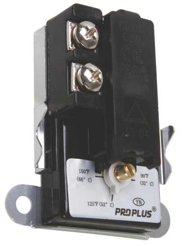 PROPLUS� LOWER WATER HEATER THERMOSTAT, SOLD ON THE CARD