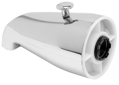 PROPLUS� BATHTUB SPOUT WITH TOP DIVERTER, CHROME, 3/4-INCH IPS