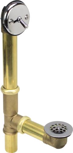 TRIP LEVER WASTE AND OVERFLOW 20 GAUGE BRASS