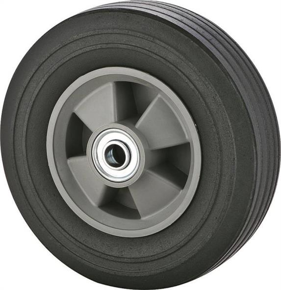 Prosource CW/W-0051P Hand Truck Wheel, For Use With 001.1049 Hand Truck, Plastic Rim, Solid Rubber