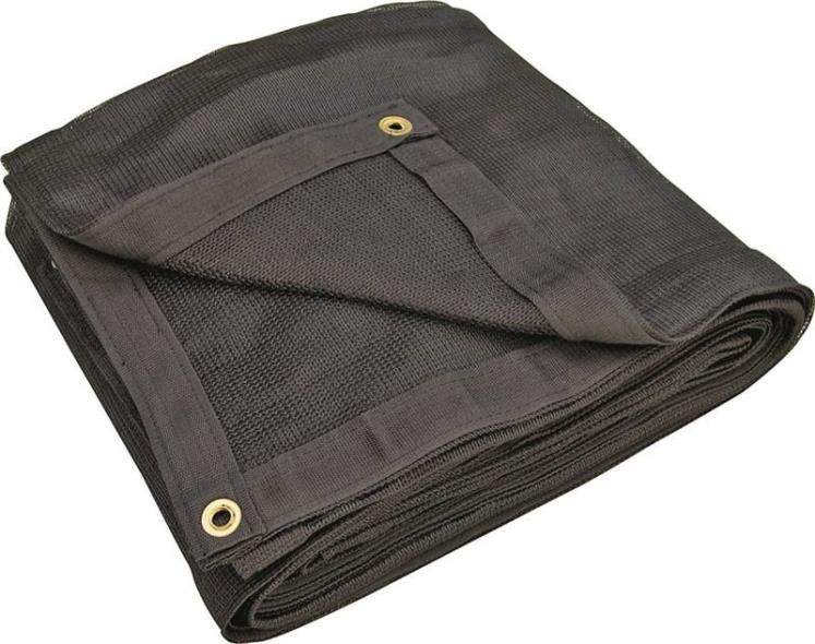 TARP MESH HD BLACK 8X10FT