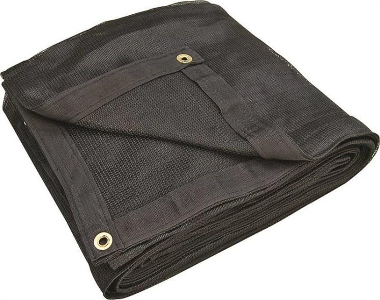 TARP MESH HD BLACK 8X16FT