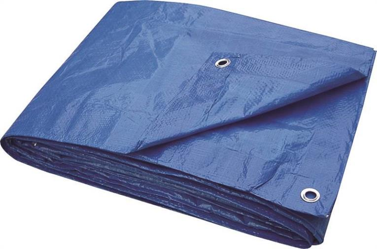 TARP BLUE PLSTC LD 6X8IN
