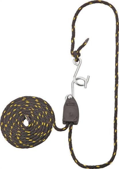 Mintcraft 10001-12-OI Rope Ratchet, 75 lb, 1/8 in Dia x 6 ft L