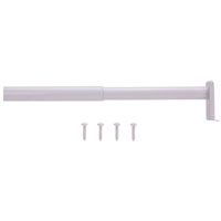 ROD CLOSET ADJ 18-30IN WHITE