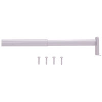 ROD CLOSET ADJ 30-48IN WHITE