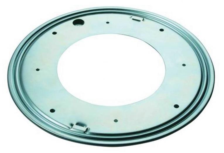 Prosource JC-L03-PS Lazy Susan Turntables, Ball Bearing, 12 In.