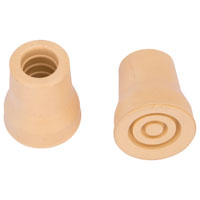 Prosource FE-S619-PS Crutch Tips, Reinforce Crutch Tip, 7/8 In