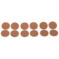 Prosource FE-50702-PS Protective Pads, Cork Pads, 1 In