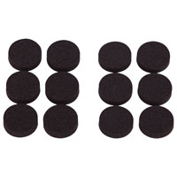 Prosource FE-50720-PS Protective Pads, Rubber Foam Pad