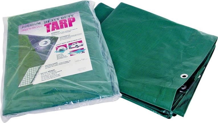 TARP HD GREEN/SILVER 16X20FT