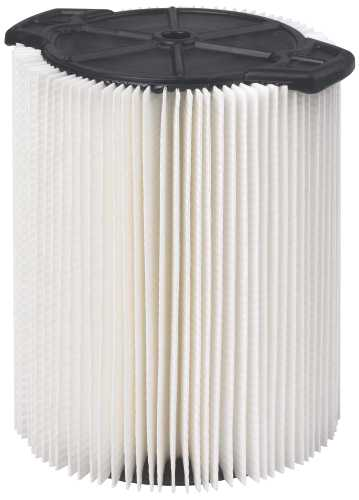WORKSHOP STANDARD QWIKLOCK FILTER FOR 5 TO 16 GAL WET/DRY VACUUM