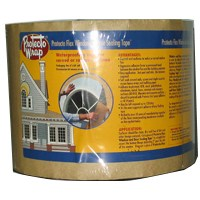 Protecto Flex 843606SW Flexible Window and Door Sealing Tape, 6 in W x 50 ft L x 40 mil T, HDPE