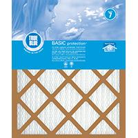 True Blue 218201 Pleated Air Filter, 20 in L x 18 in W x 1 in T