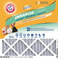 Arm and Hammer AFAH1620 Air Filter, 20 in L x 16 in W x 1 in T