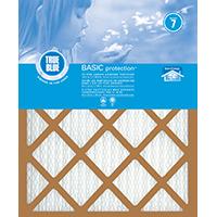 True Blue 216241 Pleated Air Filter, 24 in L x 16 in W x 1 in T