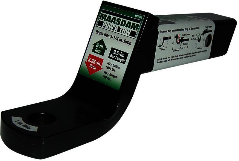 MPT006 3-1/4 IN. DROP DRAW BAR