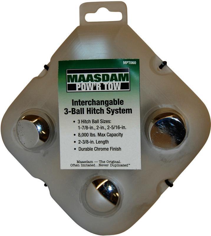 MPT060 3 INTERCHANGEABLE BALLS