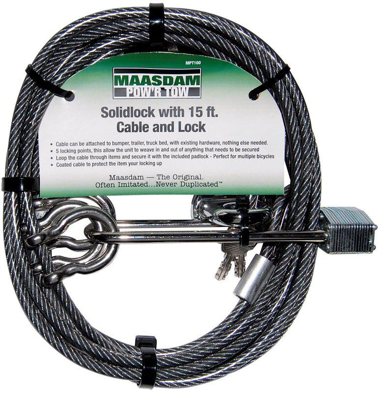 MPT100 15 FT CABLE LOCK