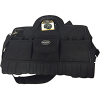 Pull'R 64018 Heavy Duty Tool Bag, 18 in L x 12 in W x 13 in D, 1680D Poly