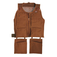 Bucket Boss 80400 Duckwear Supervest, Small/Medium, Cotton, Brown